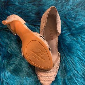 Snake design Ralph Lauren heels